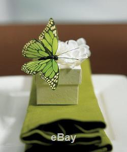 12 Hand Painted Butterfly Butterflies for Wedding Party Favor Box Decoration