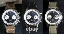 1963 ST1901 Seagull Military Pilot Chronograph Hand Winding Watch 30M 40mm 316L