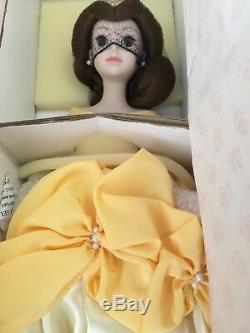 1994 Belle Collector's Doll Porcelain Hand-painted New In Box 4709/5000 With Coa
