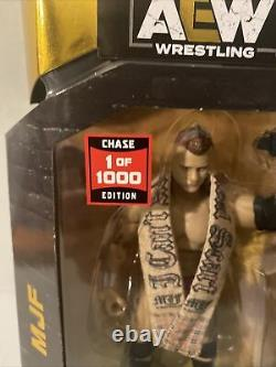 AEW Unrivaled MJF Series 2 Chase 1/1000 Rare Wrestling Figure In Hand 1 of 1000