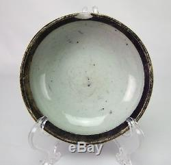 Antique Chinese Hand Painted Blue and White Porcelain Ink Paste Box