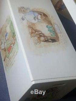 Beatrix potter hand painted Childrens toy box (Ready Now)