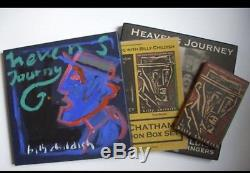 Billy Childish Box Set Hand Painted Signed Mint