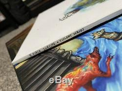 Circa Survive HAND PAINTED Vinyl Sleeve & Box #69/111 Violent Waves Esao Andrews