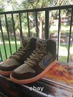 Concepts X Nike SB Dunk High Pro Turdunken SPECIAL BOX Size 7.5 IN HAND