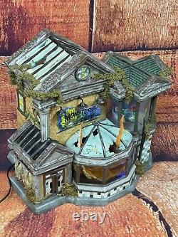 Dept 56 Halloween Snow Village Monsters Of The Deep Collectors Edition Near Mint