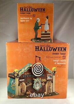 Dept 56 Lot of 2 DOLLY'S WORLD OF HYPNOSIS + SPELLBOUND HYPNO GIRL SV Halloween