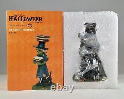 Dept 56 NO SPELL UNLEARNED 6003166 SNOW VILLAGE HALLOWEEN Brand NEW Witch Hollow