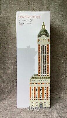 Dept 56 THE SINGER BUILDING 6000569 CHRISTMAS IN THE CITY Department 56 NEW D56