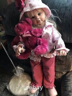 Doll Maker & Friends 27 A ROSE IS A ROSE Linda Rick withStand in Box #280/300 New