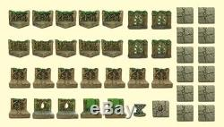 Dwarven Forge Resin Woodland Set withBox MM-040 (Expertly Hand Painted) Unopened