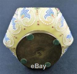 Extremely RARE Beaded PERSIAN antique NAKARA Dresser Jewelry BOX C. F. Monroe