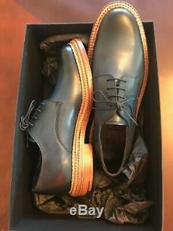 Grenson Hand Painted Calf Leather /Midnight Blue /Size 8 UK, 8.5 US /New in Box