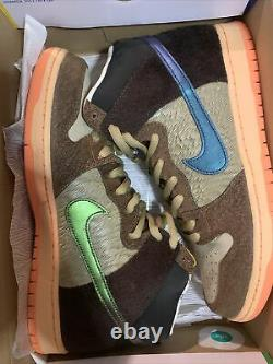IN HAND Nike x Concepts Turdunken Special Box US Mens Size 11.5 Deadstock
