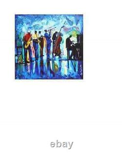 Jazz Reflections William Tolliver Signed In The Right Hand Corner 182/350