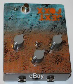 Jext Telez Effects Pedal, Jext Foxx, Hand Painted, Limited, Brand New In Box