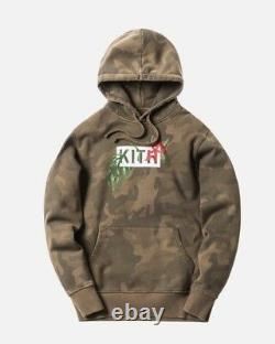 Kith In Bloom Box Logo Hoodie Camo Size Medium In Hand Free Shipping