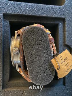 Laco 1925 Limited Edition Auxiliary Observer 862143 RAD AUX Hand Aged 63/143 NEW