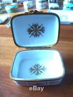 Le Tallec Limoges Cirque Chinois Variation Hand Painted 1953 Trinket Box