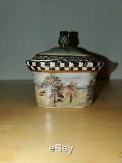 MACKENZIE CHILDS HAND PAINTED MACLACHLAN BOX 1990 First Edition
