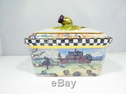 Mackenzie Childs Hand Painted Maclachlan Box Second Edition Retired 1991