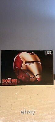 Marvel Legends Iron Man Electronic Helmet In Hand Ready to Ship