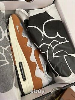 Nike Air Max 1 Patta Waves Monarch Size 12 SPECIAL BOX IN HAND