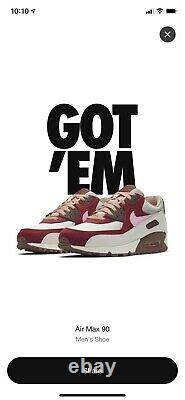 Nike Air Max 90 Bacon, size 12, 2021 in hand, new in box, rare