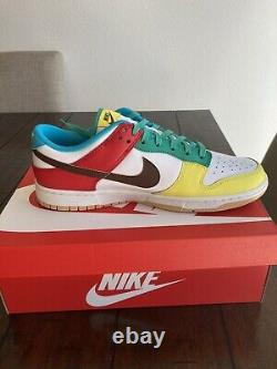 Nike Dunk Low SE FREE. 99 White Size 12. Box In Hand Ready To Ship