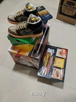 Nike SB Dunk High Concepts Turdunken Special Box Size 4.5 In Hand