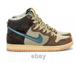 Nike SB Dunk High x Concepts Turdunken SPECIAL BOX Size 7 IN HAND