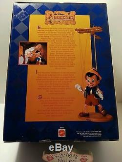 Rare Disney Pinocchio Marionette All Wood Hand Painted New In Box Timeless Toys