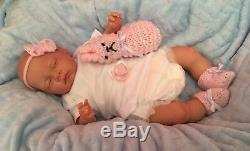 Reborn Baby Doll Newborn Vinyl Silicone Gifts Child Friendly Made In Uk