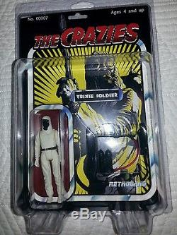 Retroband Father, Trixie solider, hand painted box sides and surprise free gifts