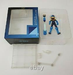 Rockman EXE PVC & ABS-Painted Action Figure WIth Box Megaman 4 Inch Nel Sentinel