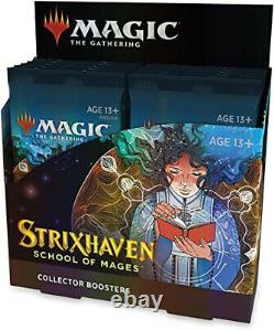 Strixhaven School of Mages Collector Booster Box MTG sealed In Hand