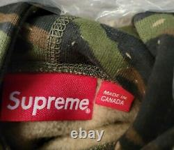 Supreme Small Box Logo Hoodie Tiger Camo Size XL SS21 IN HAND