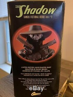 The Shadow Bust Boxed Statue Sculpted Randy Bowen Limited Edition Hand Painted