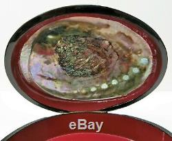 Unique High Quality Fedoskino Russian Lacquer Box Ocean