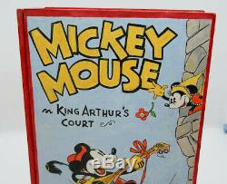 Vintage 1930 S Hand Painted Mickey Mouse Wood Book Box Prototype Art