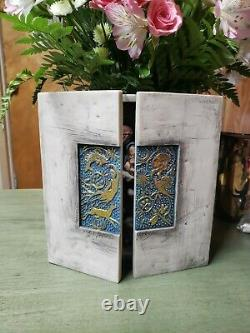 Willow Tree Starry Night Nativity, Sculpted Hand-Painted Nativity Triptych Box