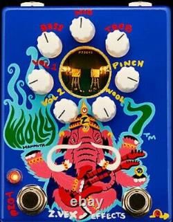 Zvex Effects Woolly Mammoth 7 Hand Painted Guitar Effect Pedal Open Box